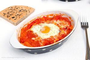 Veggie egg-nest
