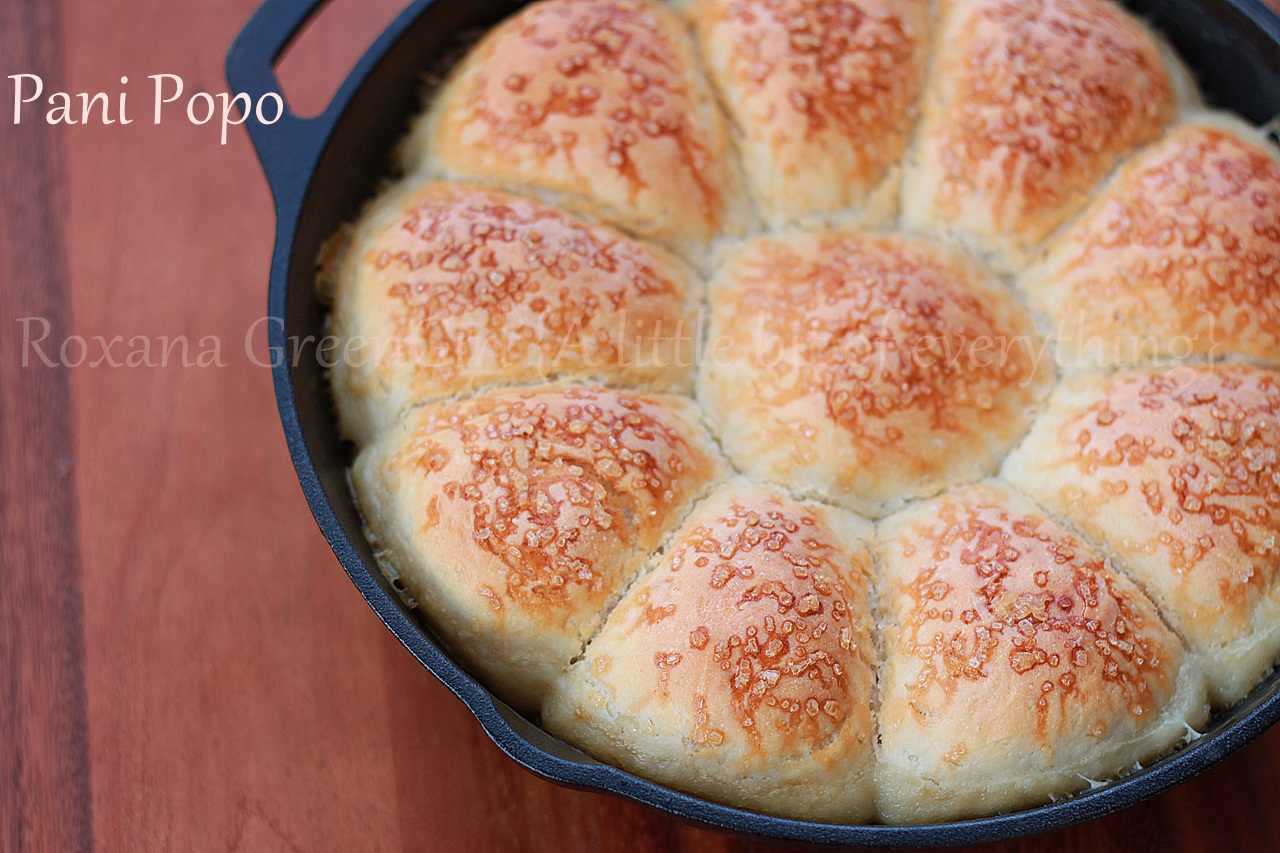 Pani Popo recipe from Roxanashomebaking.com Sweet soft buns baked in a pool of coconut milk