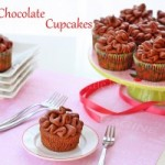 Chocolate yogurt cupcakes and chocolate yogurt frosting