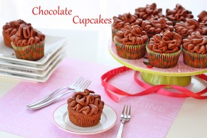 Chocolate Yogurt Cupcakes and Chocolate Yogurt Frosting Recipe