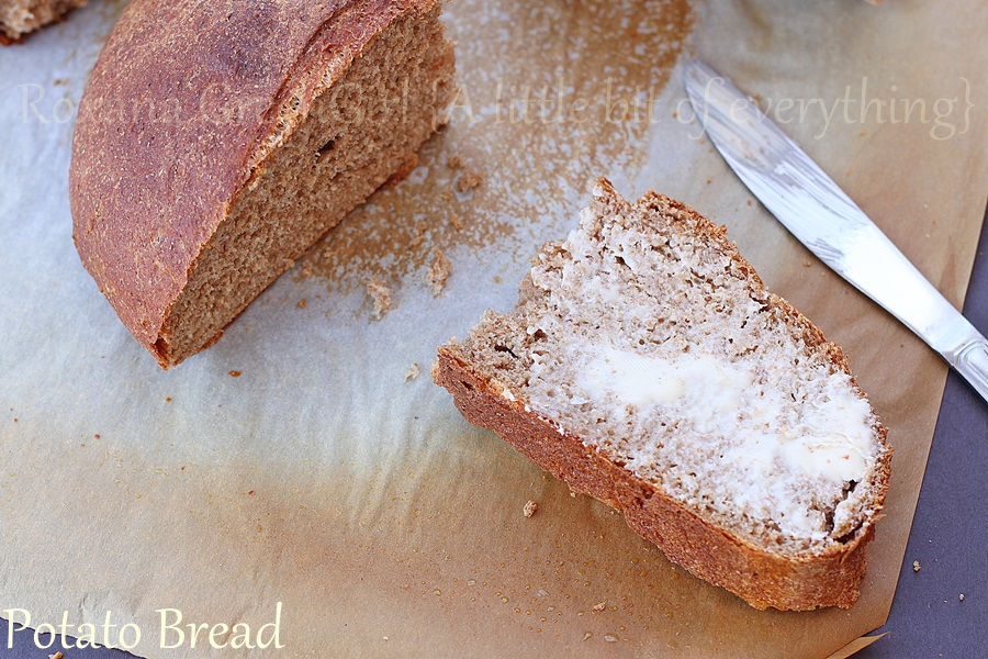 Whole Wheat Potato Bread | roxanashomebaking.com