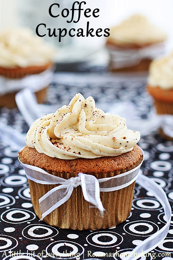 Coffee Flavored Cupcakes Recipe