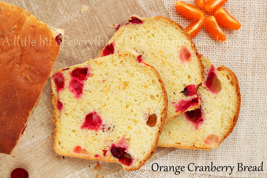orange cranberry bread | roxanashomebaking.com/
