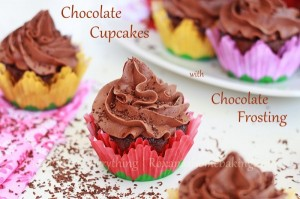 Chocolate Cupcakes with Chocolate Frosting Recipe