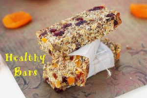 Homemade Healthy Snack Bars Recipe