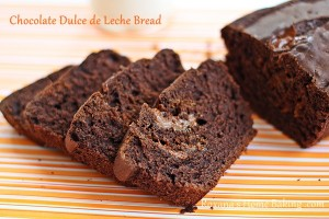 Chocolate Dulce de Leche Bread