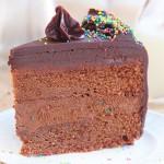Triple chocolate cake and a $150 CUTCO Cutlery gift card giveaway