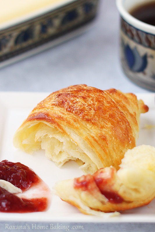 Butter Croissant Recipe Easy