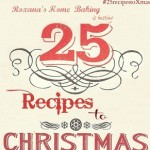 25 recipes to Christmas #25recipestoXmas