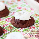 Hot Chocolate Cookies #25recipestoXmas