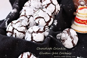 chocolate crinkle glutenfree cookies recipe roxanashomebaking 4
