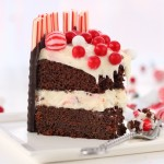 Christmas Devil's Chocolate Cake with Cream Cheese Frosting #25recipestoXmas