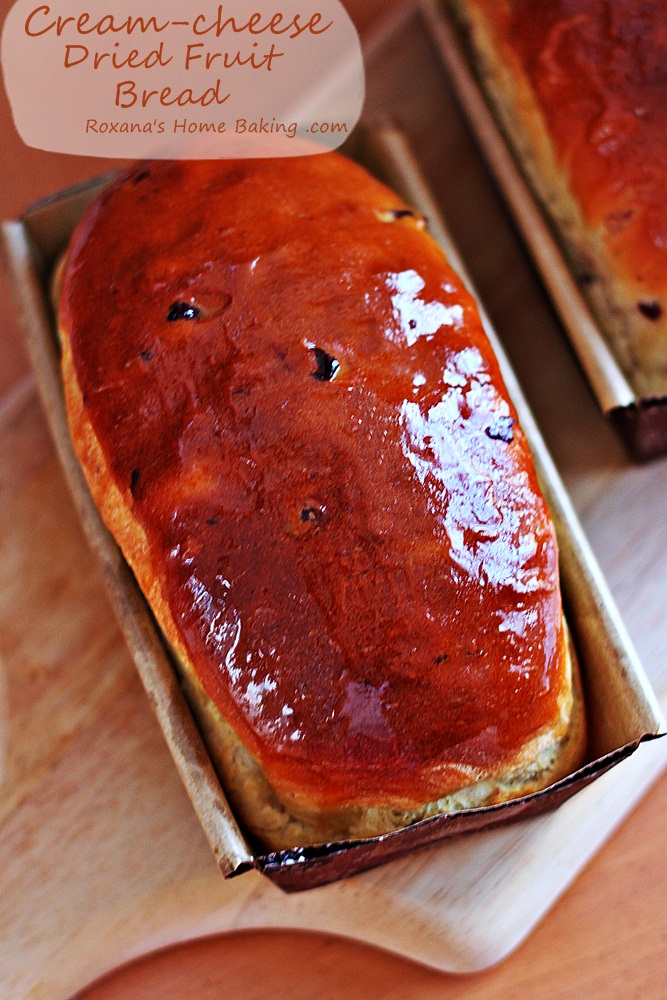 Cream cheese dried fruit bread recipe roxanashomebaking 1