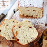Cream cheese dried fruit bread #25recipestoXmas
