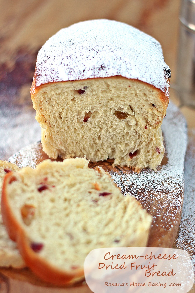 Cream cheese dried fruit bread recipe