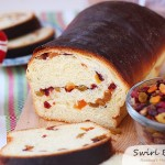 Romanian dried fruit swirl bread #25recipestoXmas