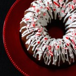 Chocolate-Peppermint Bundt Cake #25recipestoXmas