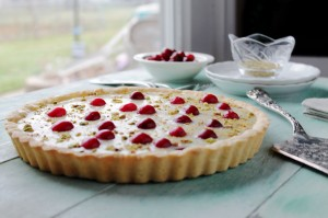 White-Chocolate-Cranberry-Tart