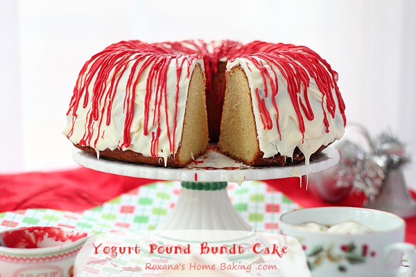 Greek Yogurt Bundt Pound Cake