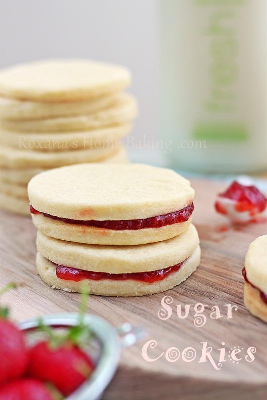 Lemon Sugar Cookies