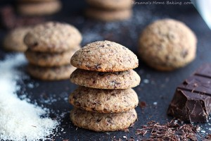 chocolate coconut cookies recipe roxanashomebaking 2