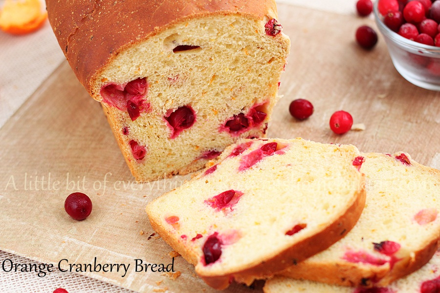 This Orange Cranberry Bread from Roxanashomebaking.com combines the ...