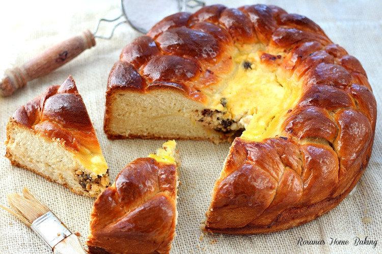 Romanian Easter bread – Pasca