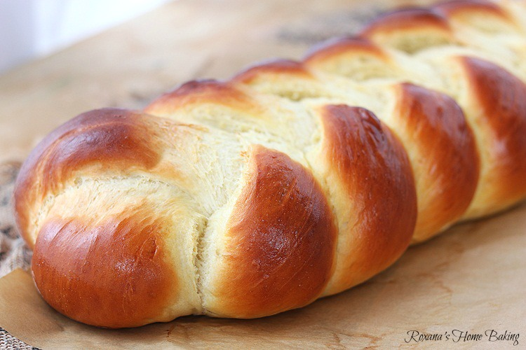 Braided Easy Egg Bread Recipe