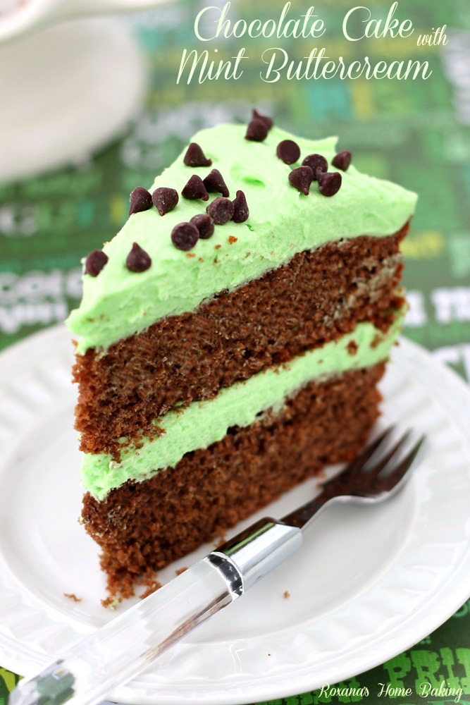 mint chocolate cake chocolate cake with mint buttercream a treats affair 5950