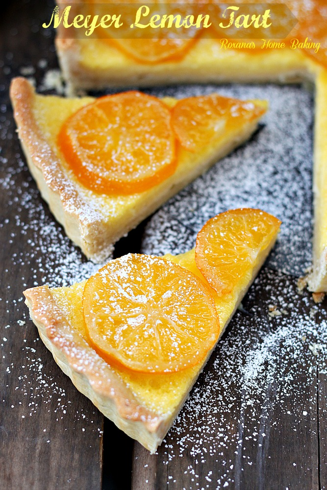 meyer lemon tart recipe 2