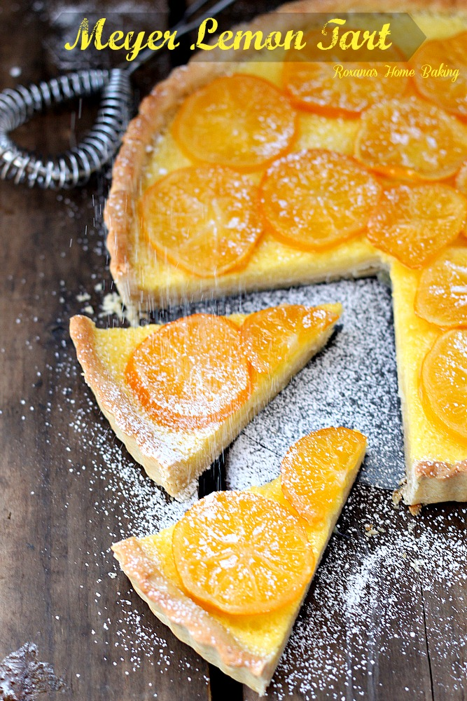 meyer lemon tart recipe 5