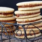 Alfajores – dulce de leche sandwich cookies