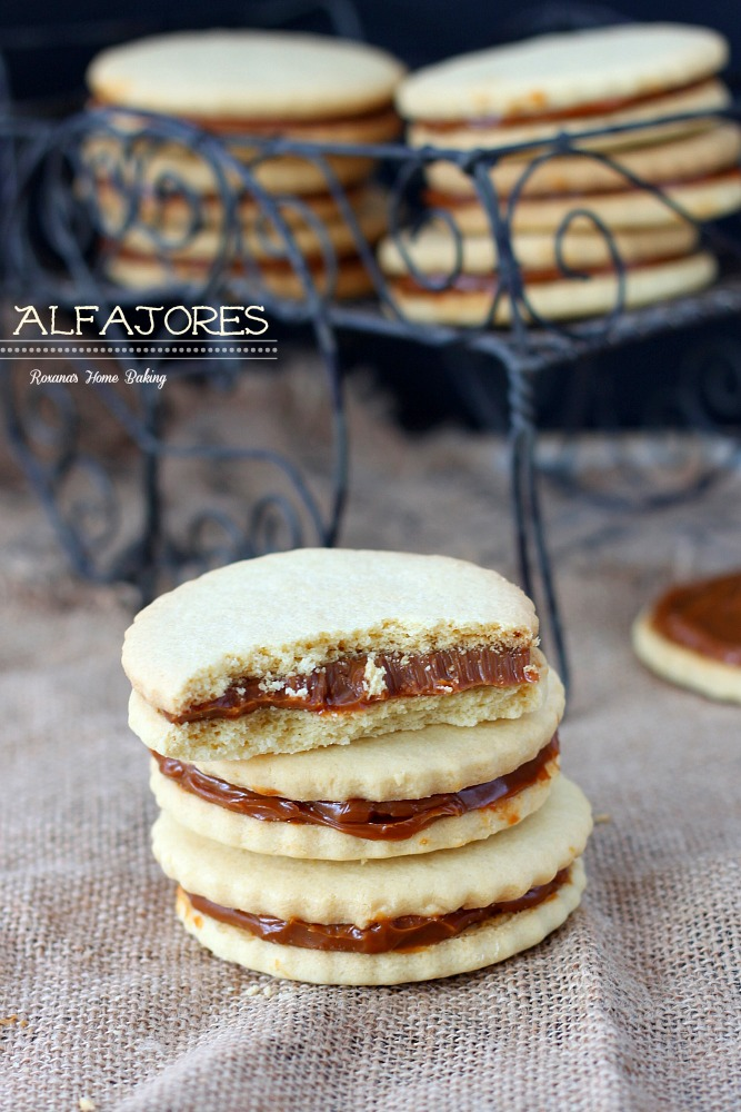 Alfajores, also known as dulce de leche sandwich cookies, are ...