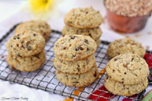 chocolate chip breakfast cookies 3