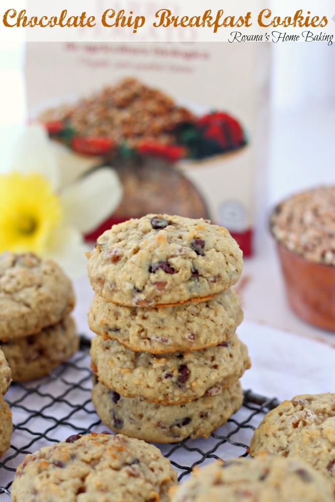 chocolate chip breakfast cookies recipe 4