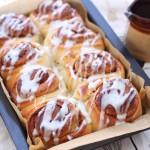 Overnight cinnamon rolls (buns)