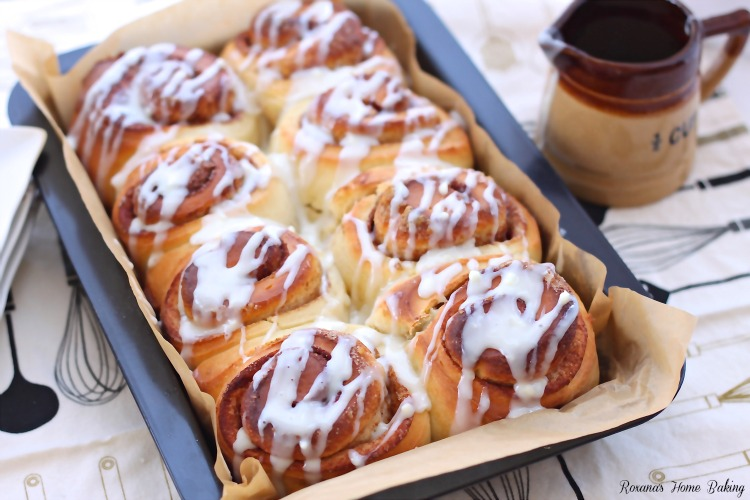 Overnight cinnamon rolls recipe