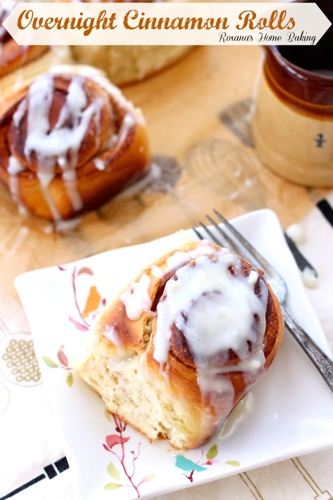 The BEST cinnamon rolls from Roxanashomebaking.com