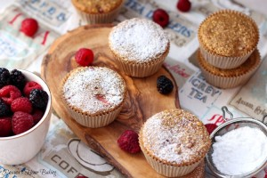 summer berry oatmeal muffins recipe 3