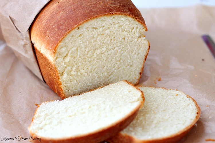 White sandwich bread recipe