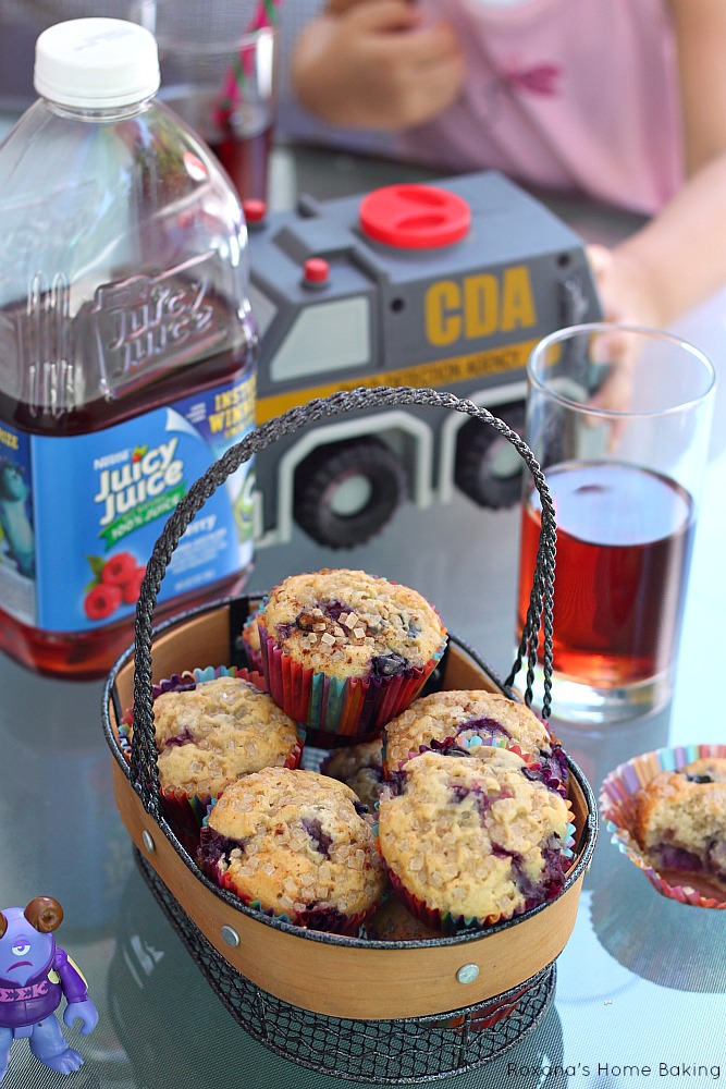 blueberry muffins recipe 1