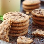 Peanut chocolate cookies