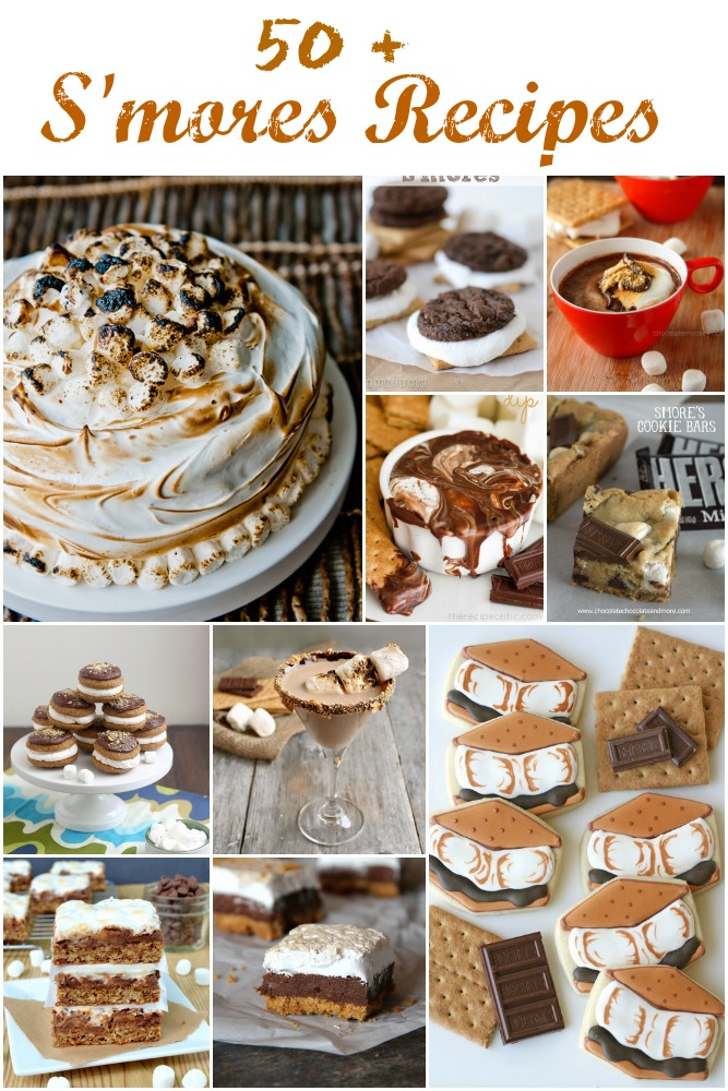 50 + S'mores recipes
