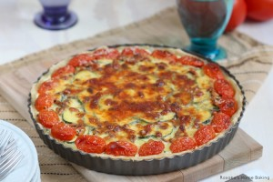 cheesy zucchini tart recipe 3