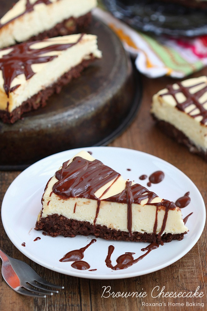 Cheesecake Topped Brownies Recipes — Dishmaps