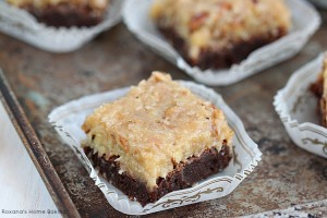 German Chocolate Brownies recipe 2
