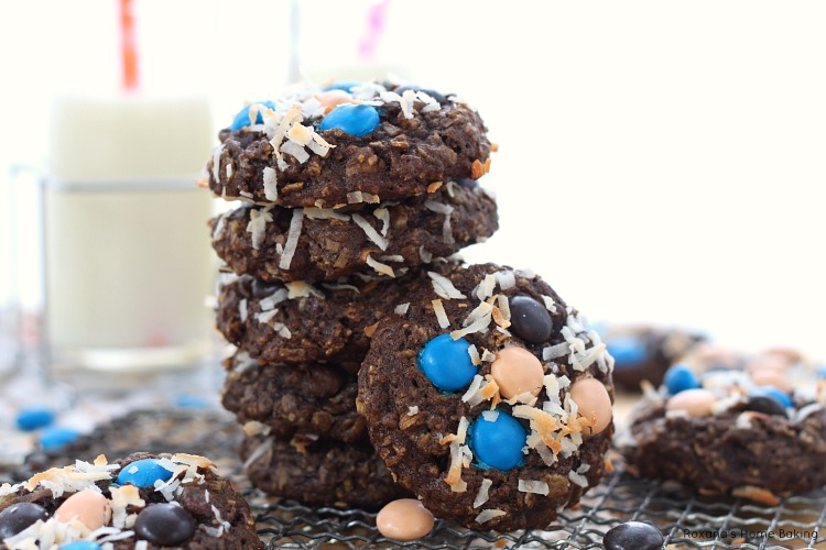 Almond joy oatmeal cookies recipe