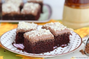 chocolate sheet cake recipe 1