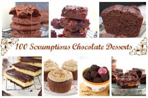 100 chocolate desserts