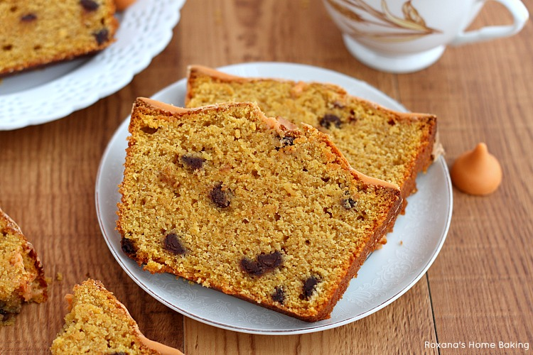 Chocolate chip pumpkin quick bread recipe